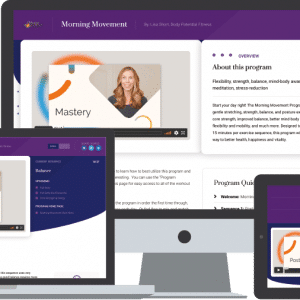 The Morning Movement Program Member Area Multi-Device Preview